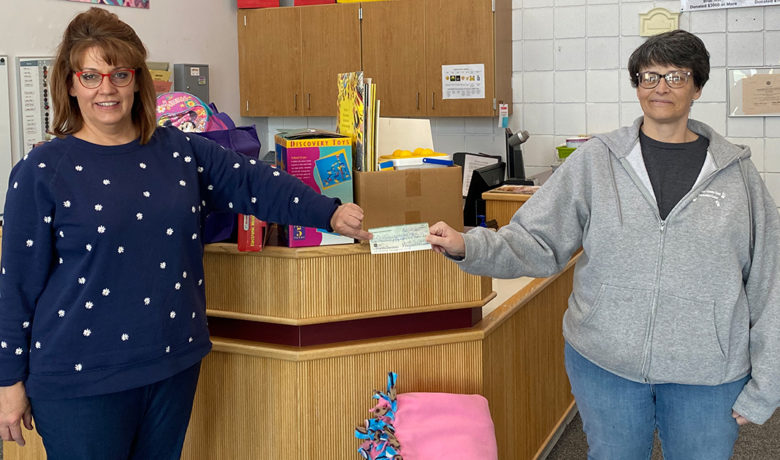 Sweetwater County Child Developmental Center Receives Donation