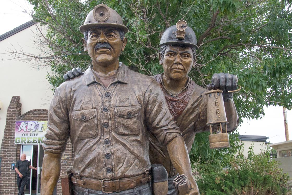 "A Legacy of Trona Mining; ""Shift Change"""