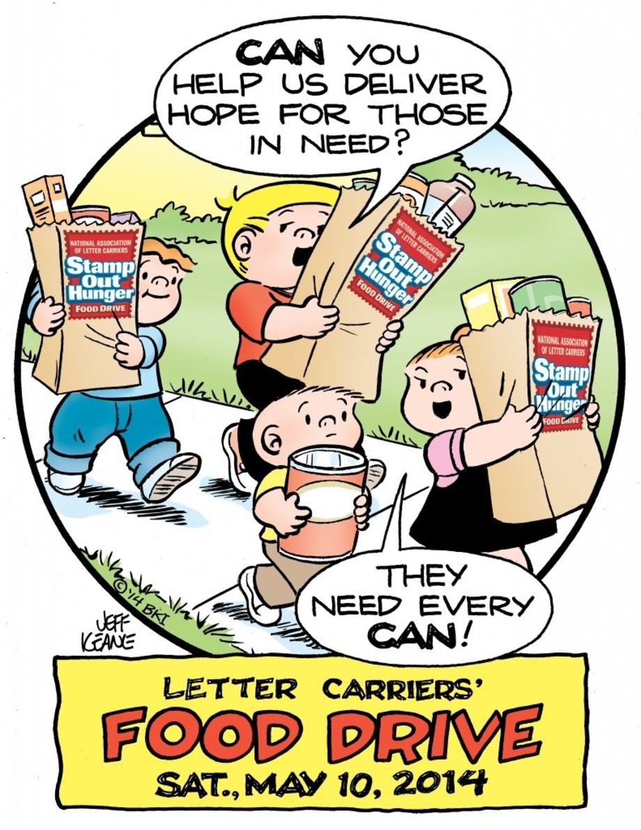 U.S. Postal Service letter carrier food drive takes place this Saturday