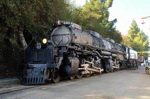 Union Pacific Big Boy Locomotive begins journey from California to Wyoming