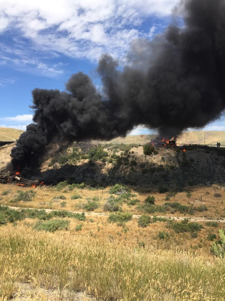 BREAKING: I-80 Eastbound Lanes Near Milepost 87 Closed Due to Truck Fire