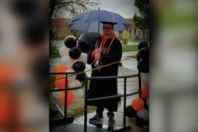 CONGRATULATIONS Jason!!! You're a graduate!