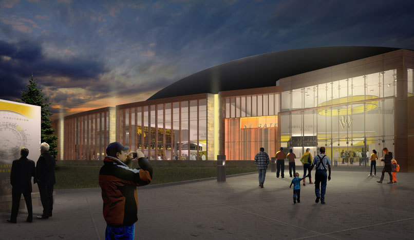 Wyoming's Arena-Auditorium Renovation Project Launches Today, With Recognition of Both Private Donors  and the Support Provided by the Wyoming State Legislature $30 Million Project is the Largest Fundraising Effort For Wyoming Basketball in School History