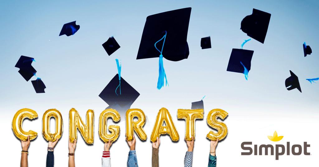 J.R Simplot Congratulates the Class of 2021