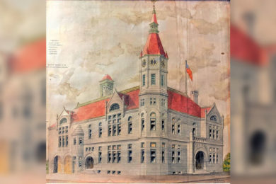 Old Rock Springs City Hall Filled with History: 1894  Building Overpriced at Start