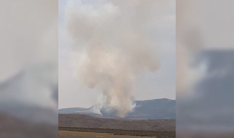 Black Butte Fire Contained; Crews Mopping Up Hot Spots Today
