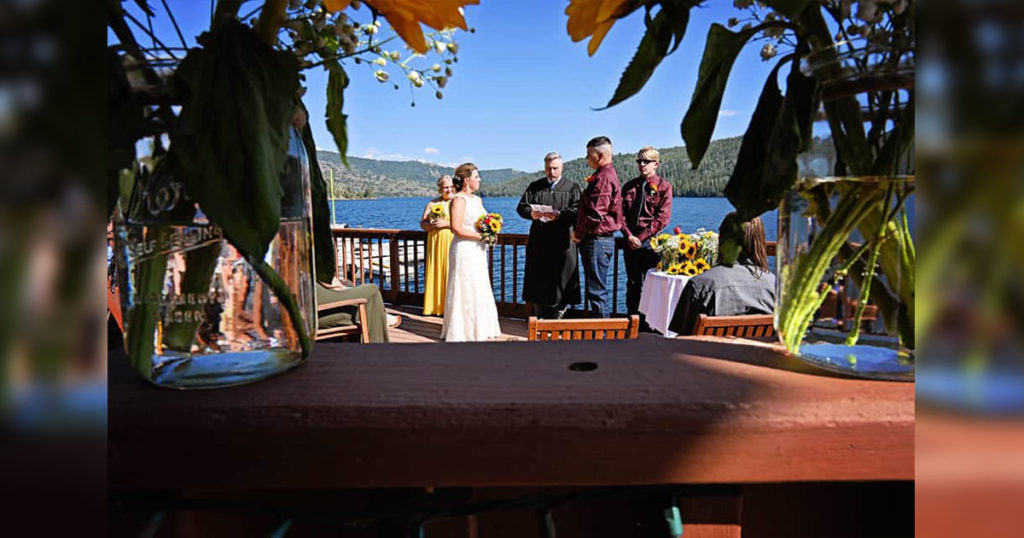 Wedding Announcement: Bridger Johnston and Marlene Bauman