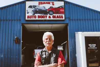 #HOMETOWN HUSTLE: Delbert Poll | Frank's Auto Body & Glass