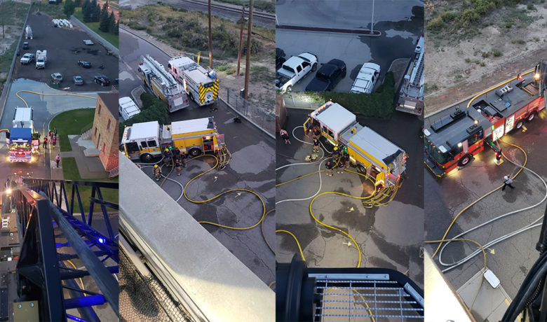 Joint Training Exercise Conducted by Rock Springs Fire and Fire District #1