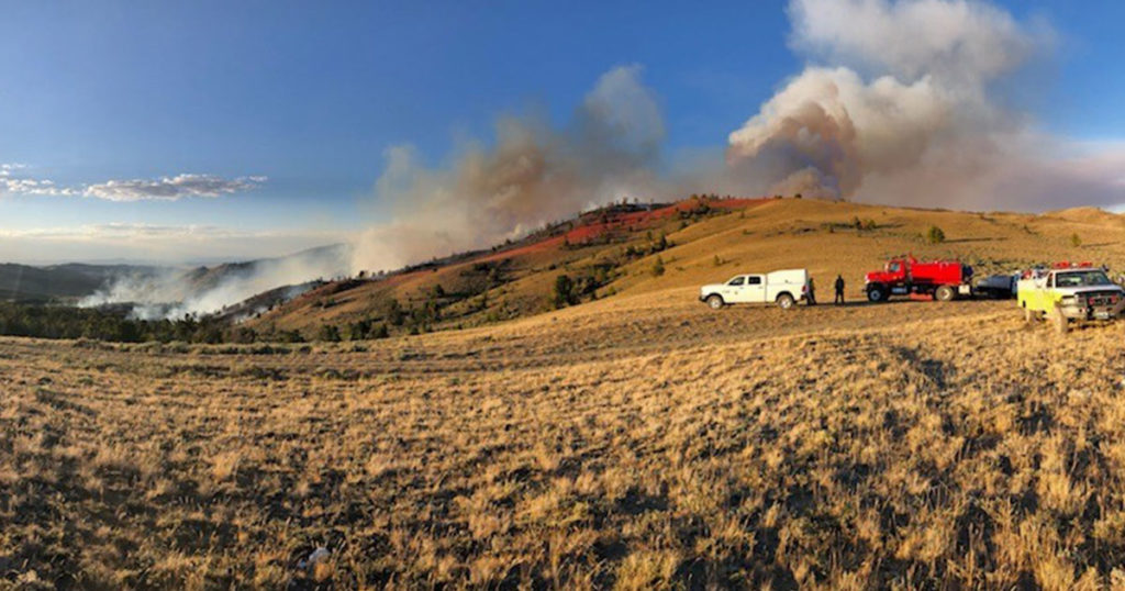 Fire Crews Focus on Structure Protection as Bradley Fire Grows to 1,600 Acres