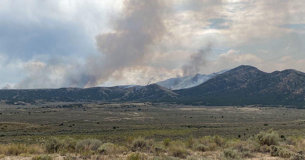 Multiple Agencies Respond to Wildland Fire South of Highway 191