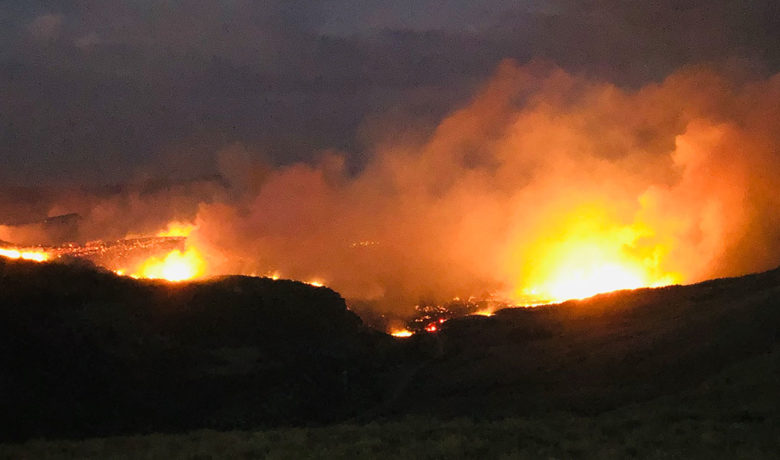 Richard Mountain Fire Grows to 6,500 Acres; Zero Percent Contained