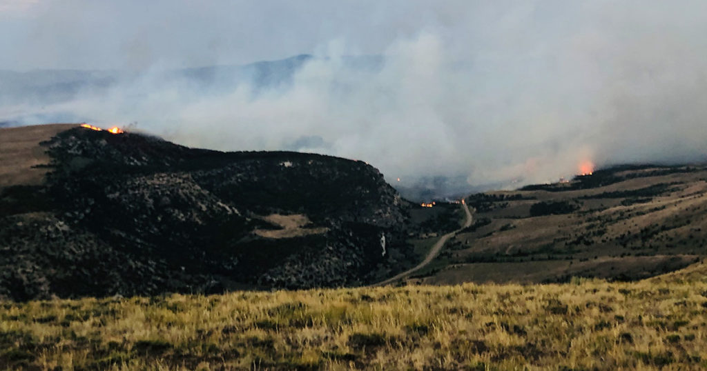 Richard Mountain Fire 90 Percent Contained; Minimal Fire Activity