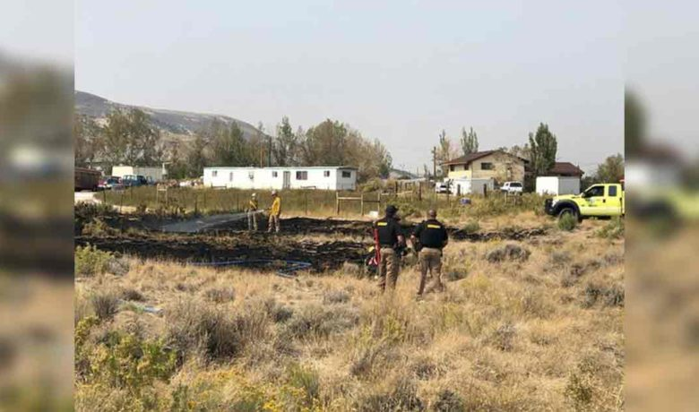 Fire Crews Quickly Extinguish Brush Fire Near Stassinos Ranch