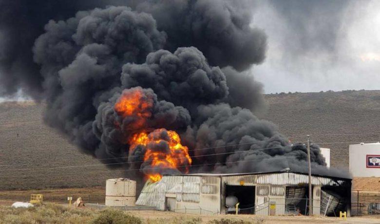 Oil Refinery East of Evanston Survives Major Fire
