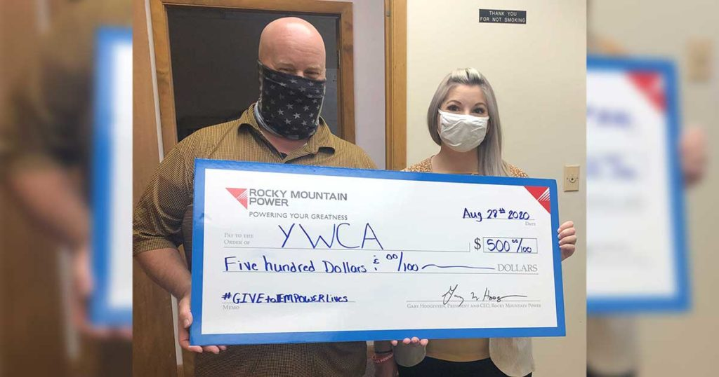 """YWCA Receives Donation for """"Give to Empower Lives"""" Campaign"""