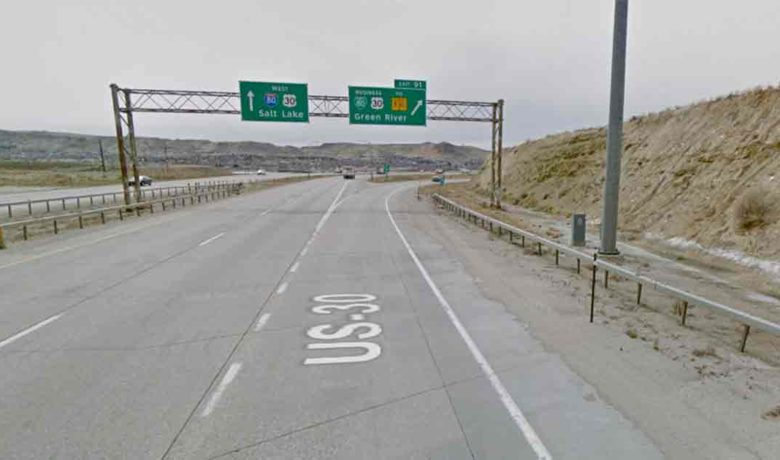 Exit 91 near Green River to Close Thursday Morning