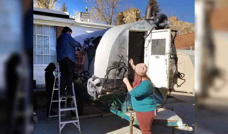 Sweetwater County Museum to Use Vintage Sheep Camp in Parade