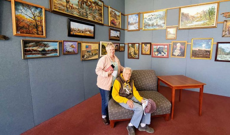 Rock Springs Artist's Work Displayed at White Mountain Library