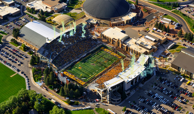 University of Wyoming Reduces Number of Fans Allowed at Athletic Events