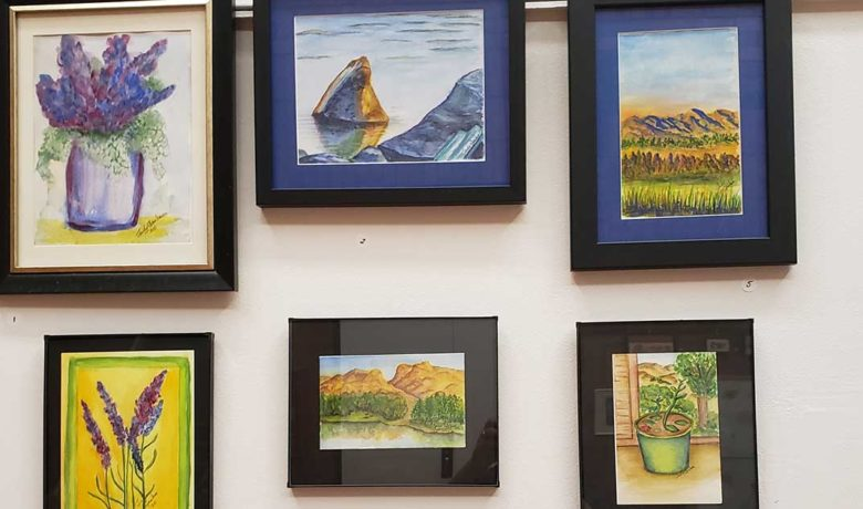 Students Showcase Watercolor Art at Sweetwater County Library