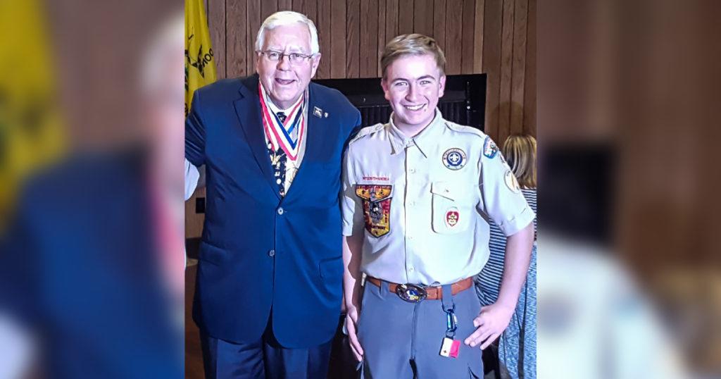 Enzi Nominates Rock Springs' Larson for U.S. Service Academy