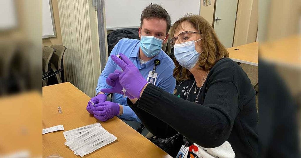 Sheriff's Office to Help Public Health with Scheduling Vaccination Clinics