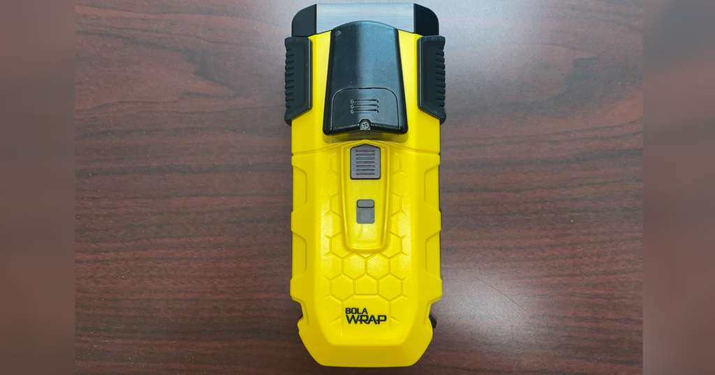 Sheriff's Office Begins Testing Less-Lethal Restraint Device