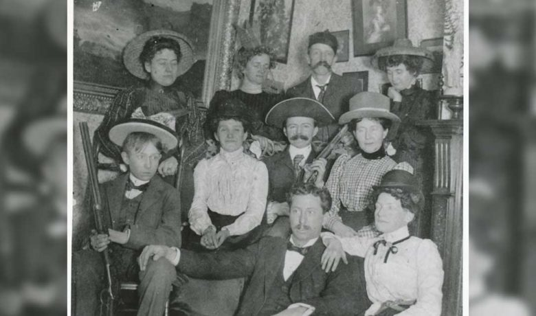 Christmas Eve at the Emery House, 1901