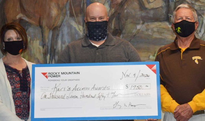 Rocky Mountain Power and Local 127 Donate to Local Students Through Kari's Access Awards