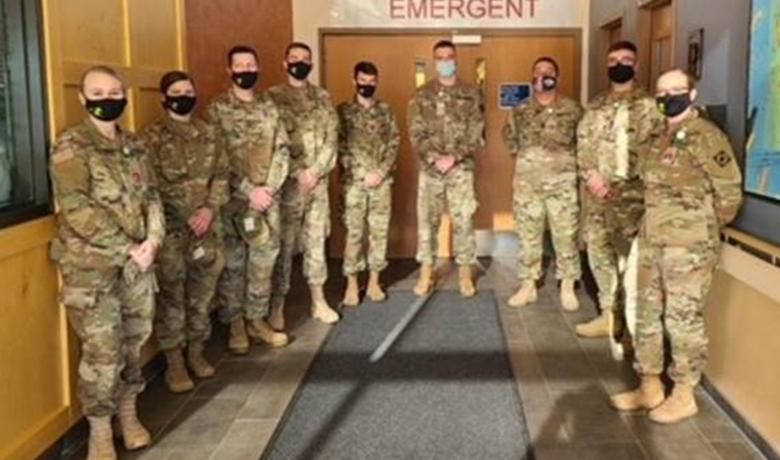 Wyoming National Guard Extends Helping Hand at Sweetwater Memorial