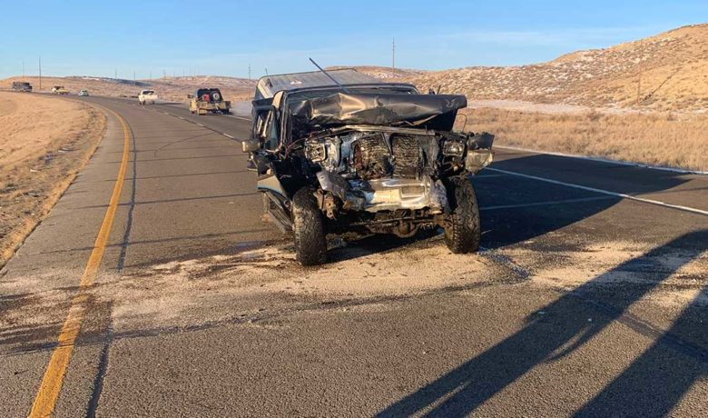 Suspected Impaired Green River Driver Crashes Into WYDOT Road Crew Vehicle