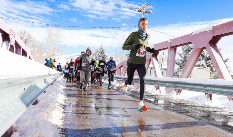 Record Number Turn Out for Frostbite 5K, 10K and Family Fun Run