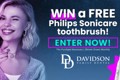 Win A FREE Philips Sonicare Toothbrush From Davidson Family Dental