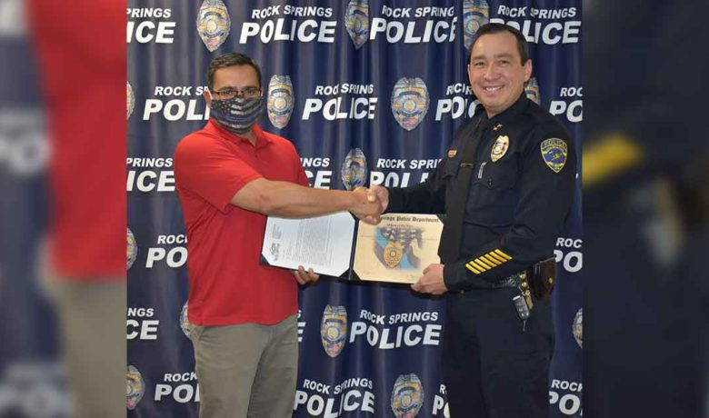 RSPD Announces Officer of the Year