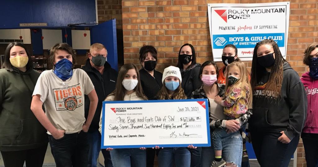 Rocky Mountain Power Helps Raise Over $65K for Boys & Girls Club