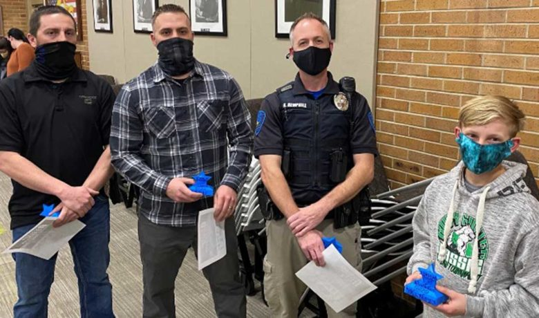 GRPD Officers Recognized by SCSD No. 2 for Keeping Schools Safe