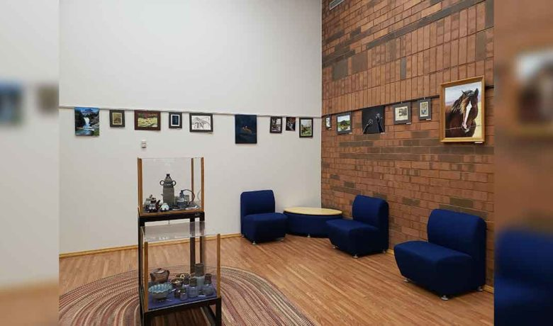 GRHS Artwork Now on Display at Sweetwater County Library