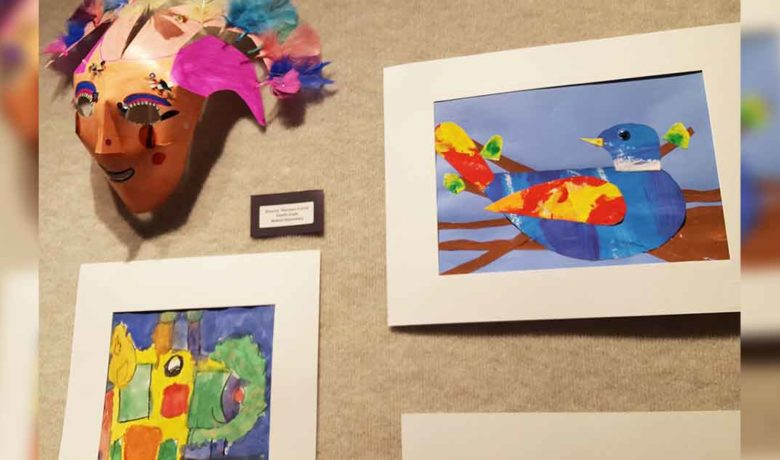 RS Elementary Students' Artwork on Display at Fine Arts Center