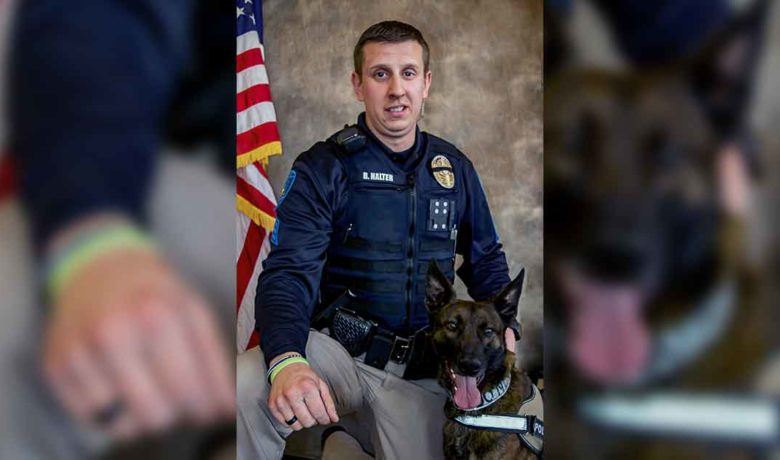 Green River Police Department Says Goodbye to K9 Ridex
