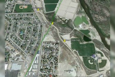 Green River Closes a Portion of Stratton Myers Road