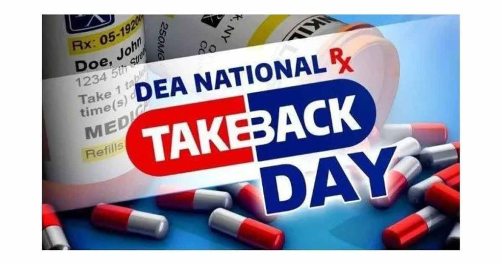 Law Enforcement Agencies Participate in Prescription Drug Take Back Event