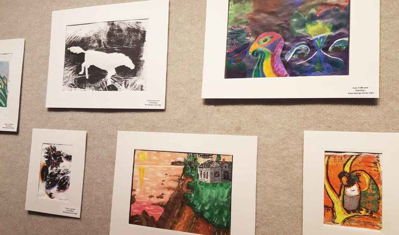 RS Junior High Students' Artwork Now on Display