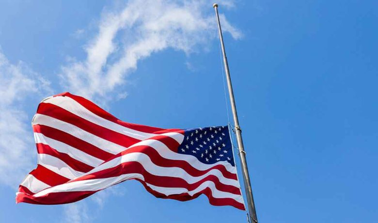 Flags to Fly at Half-staff Through Sunset on April 6