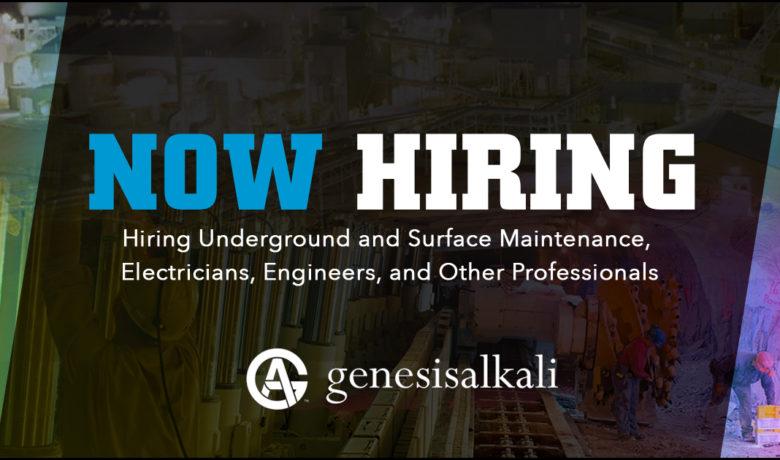 Join the Genesis Alkali Team as an Environmental Engineer!