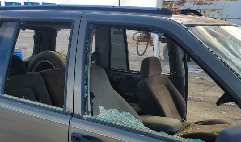 Vehicles Vandalized at Sweetwater Speedway