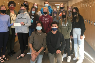 Students Raise Money for Local Soup Kitchen