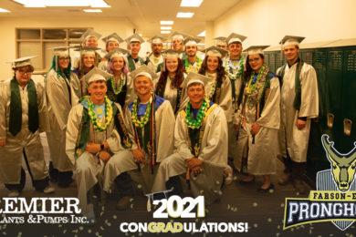 Farson-Eden High School Honors 19 Seniors in Intimate Graduation Ceremony