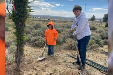 Community Celebrates Arbor Day Planting New Trees Near Golf Course