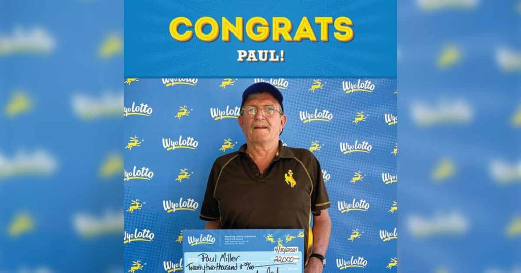 Green River Man Wins $22,000 in Lottery